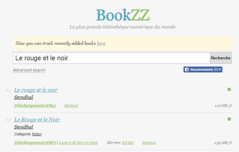 bookzz 5 sites pour trouver facilement des ebooks gratuits