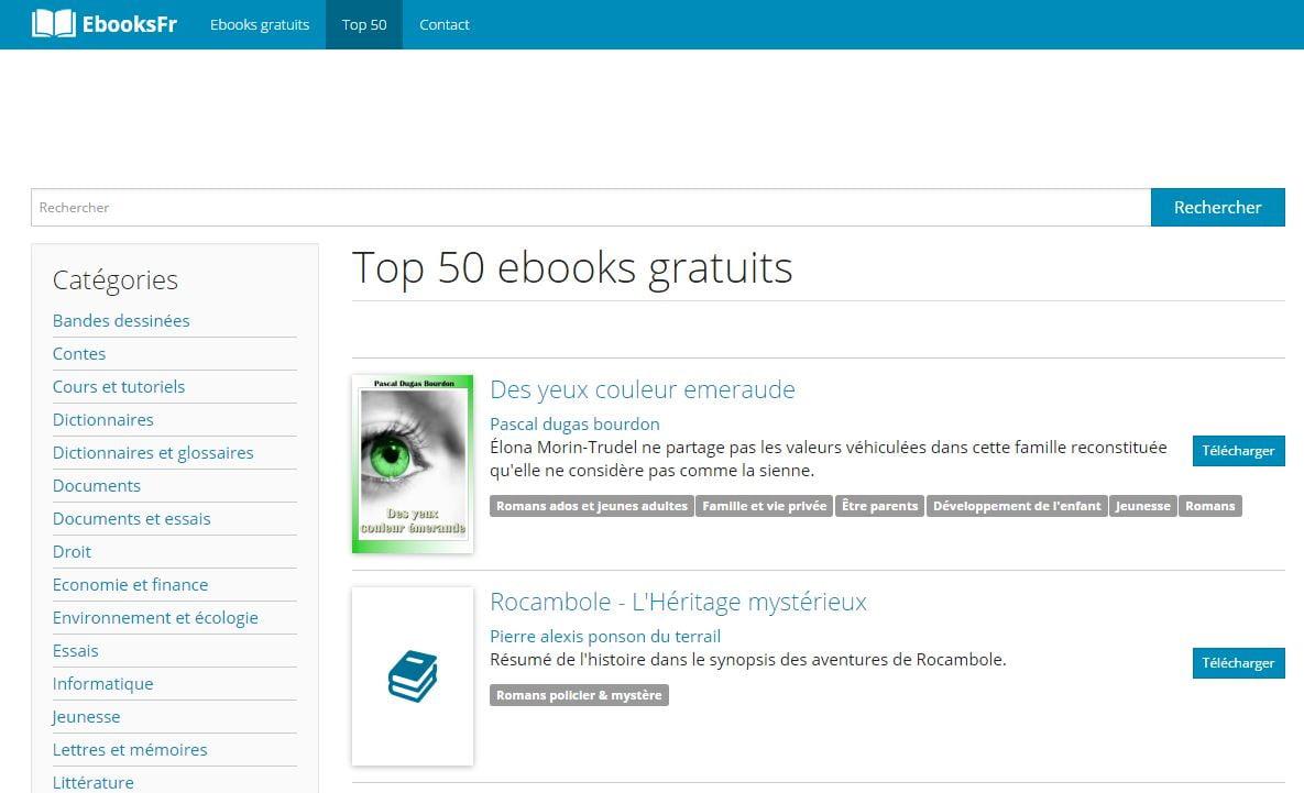 ebooksfr 5 sites pour trouver facilement des ebooks gratuits