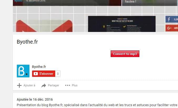extension-flvto Convertir et télécharger des vidéos YouTube gratuitement