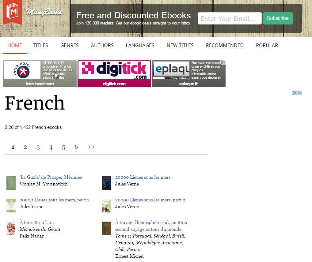 manybooks 5 sites pour trouver facilement des ebooks gratuits