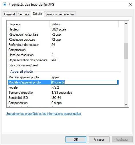 modifier-metadata-image Comment supprimer les metadonnées de vos photos