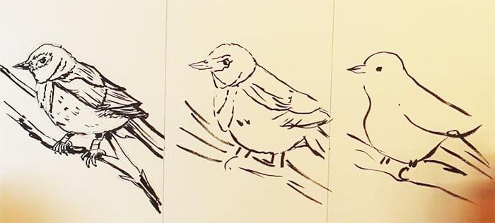 speed-drawing-challenge-15 Des artistes réalisent le même dessin en 10 minutes, 1 minutes et 10 secondes !