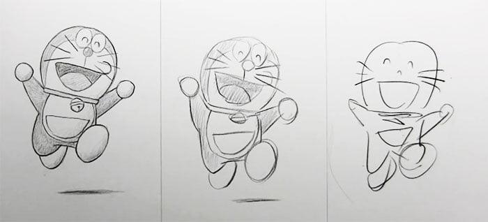 speed-drawing-challenge-6 Des artistes réalisent le même dessin en 10 minutes, 1 minutes et 10 secondes !
