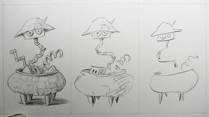 speed-drawing-challenge-9 Des artistes réalisent le même dessin en 10 minutes, 1 minutes et 10 secondes !