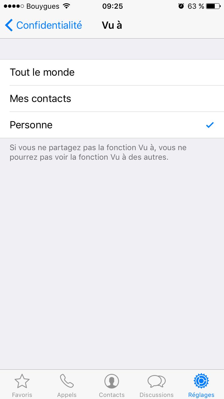 whatsapp-1 Empêcher vos contacts WhatsApp de voir que vous avez lu leurs messages