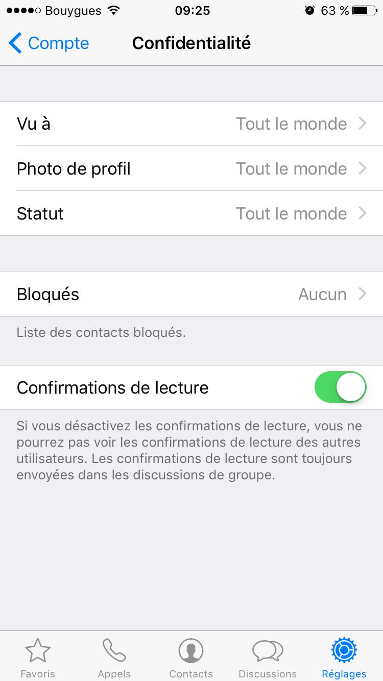 whatsapp-4 Empêcher vos contacts WhatsApp de voir que vous avez lu leurs messages