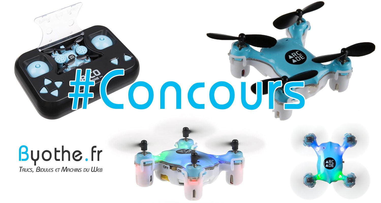 concours-drone-pico #Concours : un Nano Drone Arcade PICO à gagner !