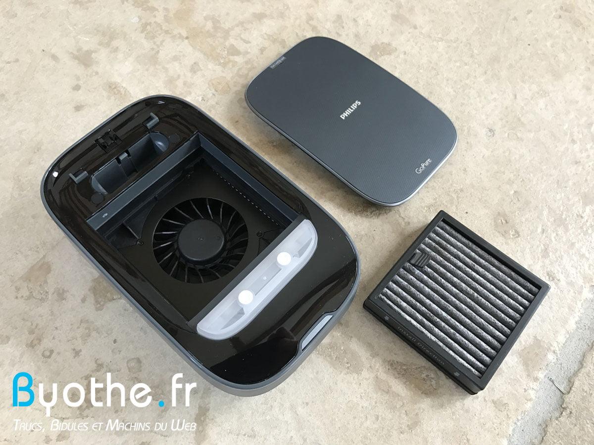 gopure-slimline-230-1 Test : GoPure de Philips, le purifieur d'air pour la voiture !