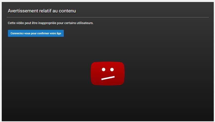 restriction-age 10 astuces à connaître sur les URL de YouTube