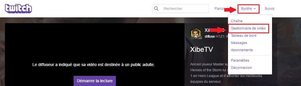 twitch-gestionnaire-video Comment télécharger vos vidéos Twitch ?