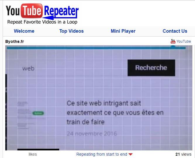 youtube-repeater 10 astuces à connaître sur les URL de YouTube