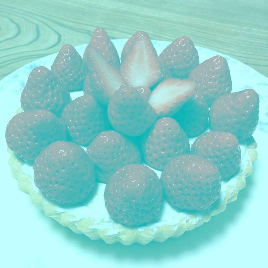 tarte-aux-fraises-1 L'image du jour : de quelle couleur voyez-vous ces fraises ?
