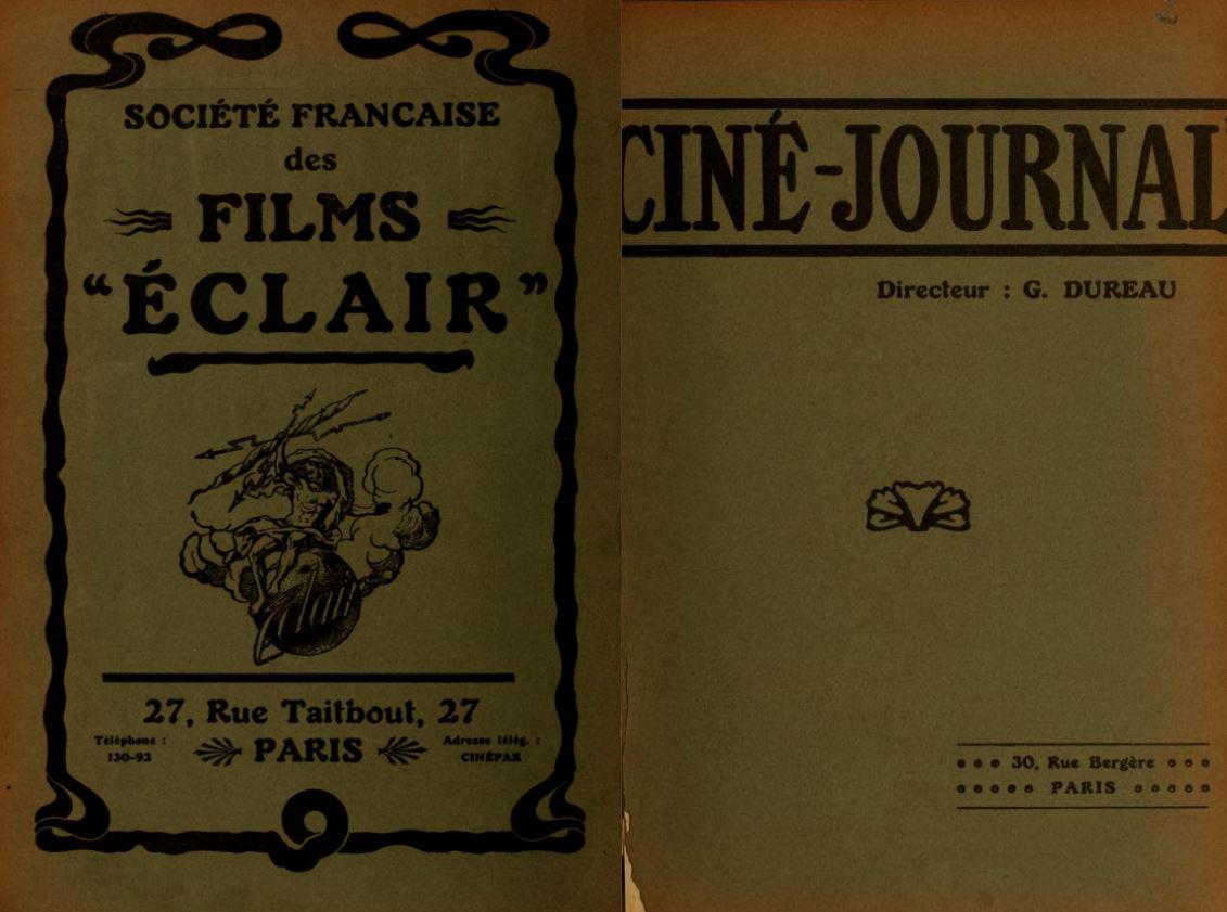 cine-journal Lantern, accédez en ligne à des milliers de revues anciennes sur le cinéma