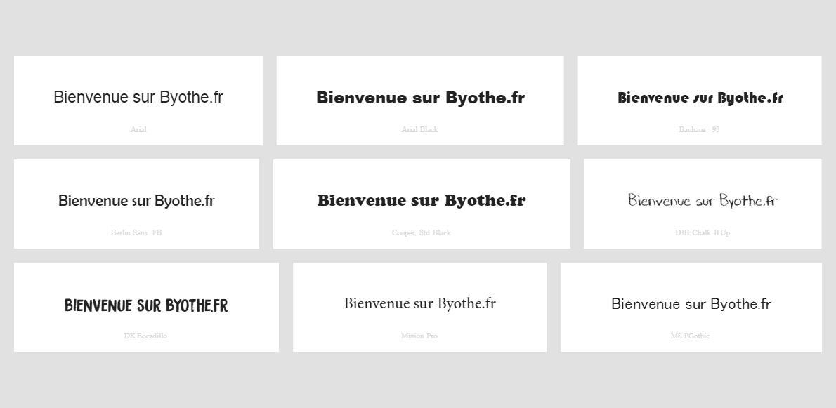 Bienvenue-sur-Byothe.fr_ Visualiser un aperçu de toutes les polices installées sur votre PC