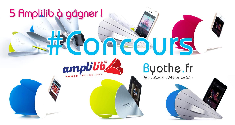 concours-amplilib #Concours : 5 amplificateurs de son pour smartphone Amplilib à gagner !