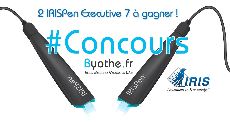 concours-irispen #Concours : 2 scanners portables IRISPen Executive 7 à gagner !