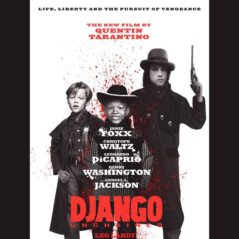 leo-lardy-django Des affiches de films avec les photos d'enfance des acteurs