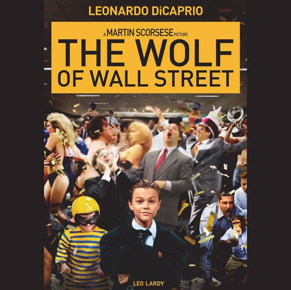 leo-lardy-wolf-wall-street Des affiches de films avec les photos d'enfance des acteurs