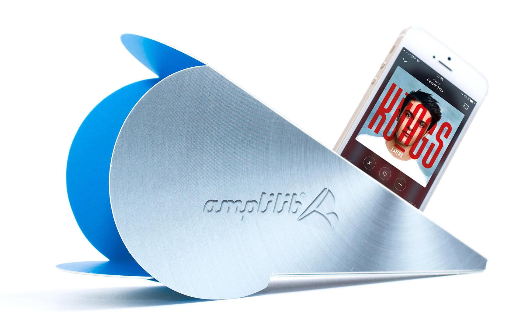 vinyle_bleu_2 #Concours : 5 amplificateurs de son pour smartphone Amplilib à gagner !