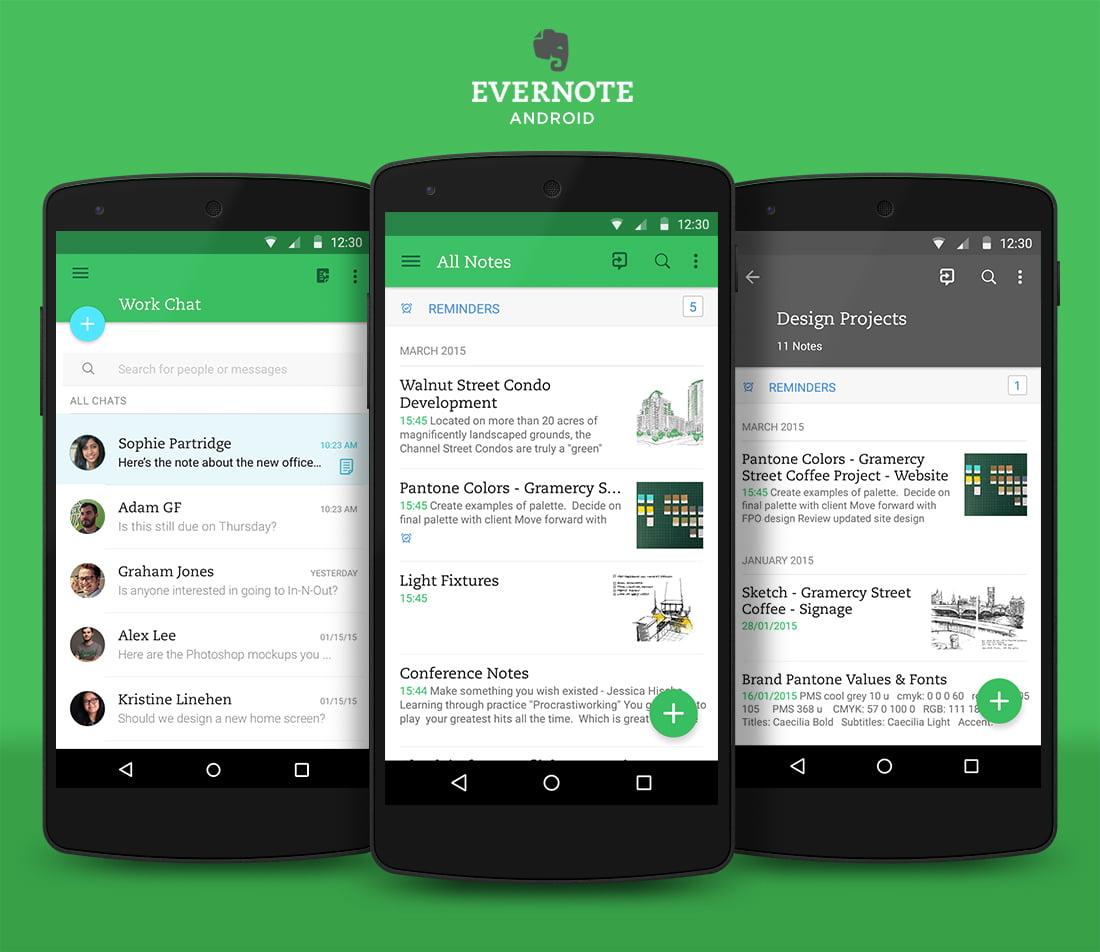 evernote 8 applications pour être plus productif à la rentrée