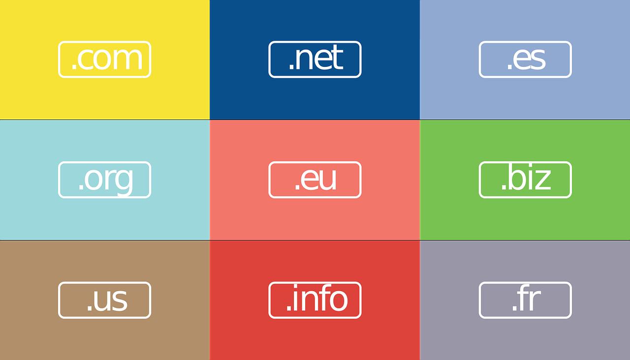 web-design-1327873_1280 .com, .org ou .fr, à quoi servent les extensions de domaine ?