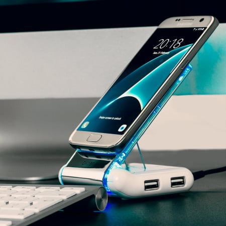 22432 #Concours : 2 stations d'accueil pour smartphone Olixar Desk Genie à gagner !