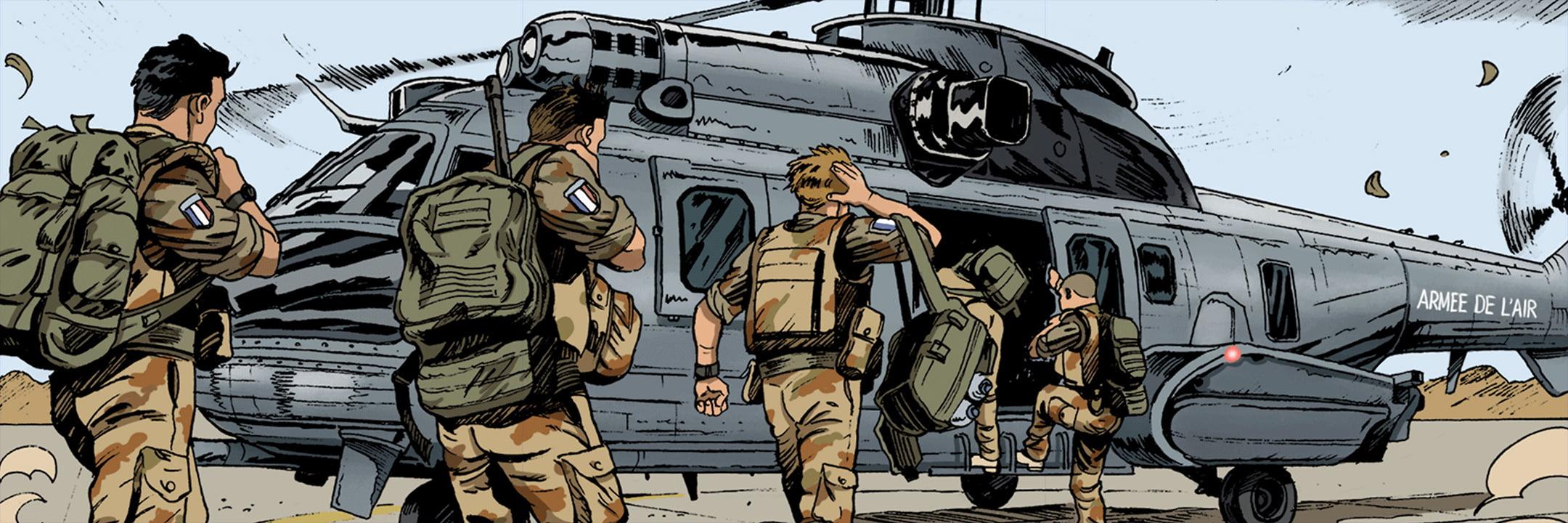 BD_Aviateurs_panorama L'Armée de l'Air lance une belle campagne de recrutement en BD
