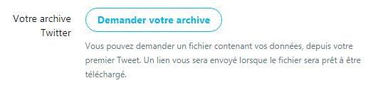 demander-archive-twitter Twitter : Petite astuce pour redécouvrir votre tout premier tweet !