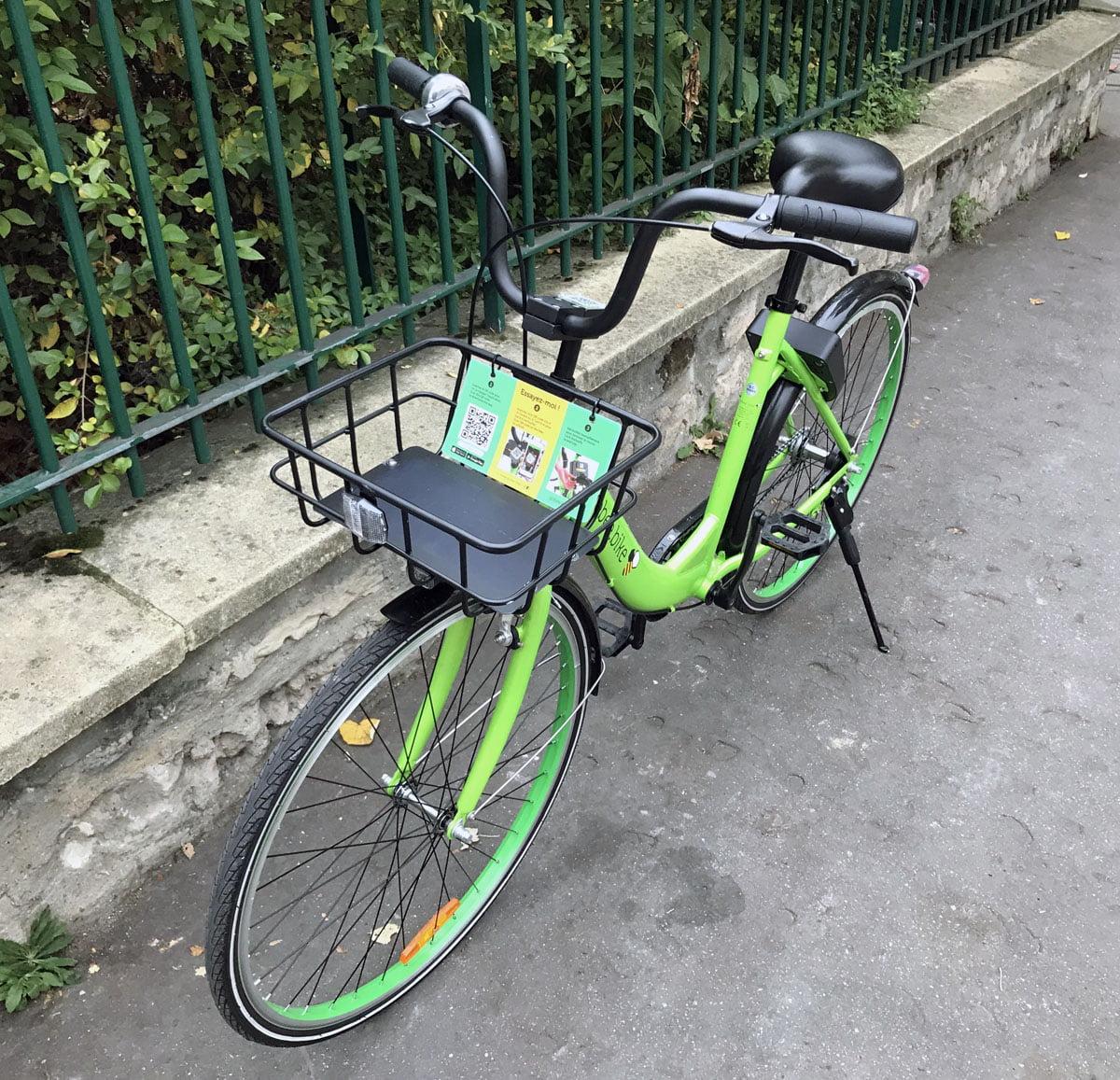 gobee-bike-1 Ce matin j'ai testé Gobee.bike le Vélib mais sans bornes de stationnement