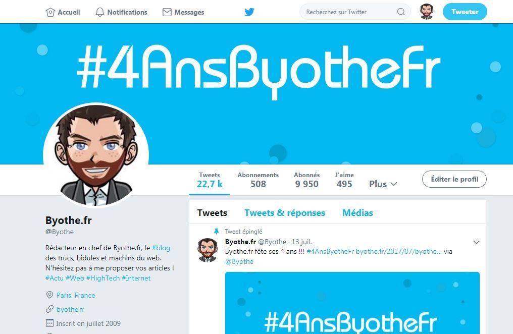 twitter-profile Twitter : Petite astuce pour redécouvrir votre tout premier tweet !