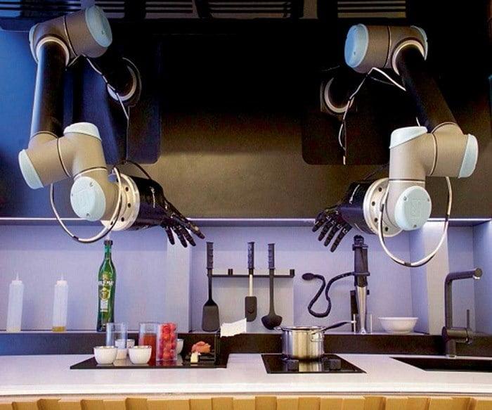 robot-multifonction-futuriste A quoi ressemblera votre cuisine dans le futur ?