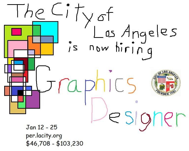 recrutement-los-angeles L'image du jour : Los Angeles veut recruter un graphiste !