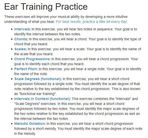 tonedear Comment exercer son oreille musicale sur Internet ?
