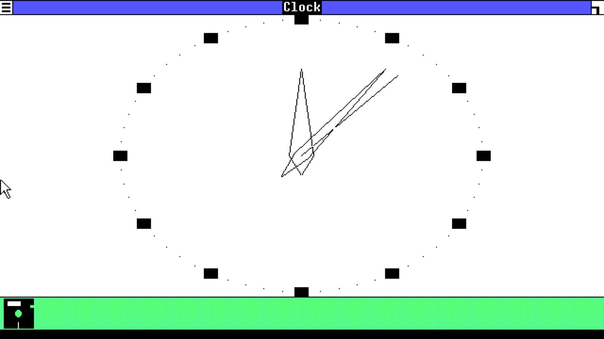windows-101-clock Retrouvez ou découvrez Windows 1.01 (1985) dans votre navigateur web !
