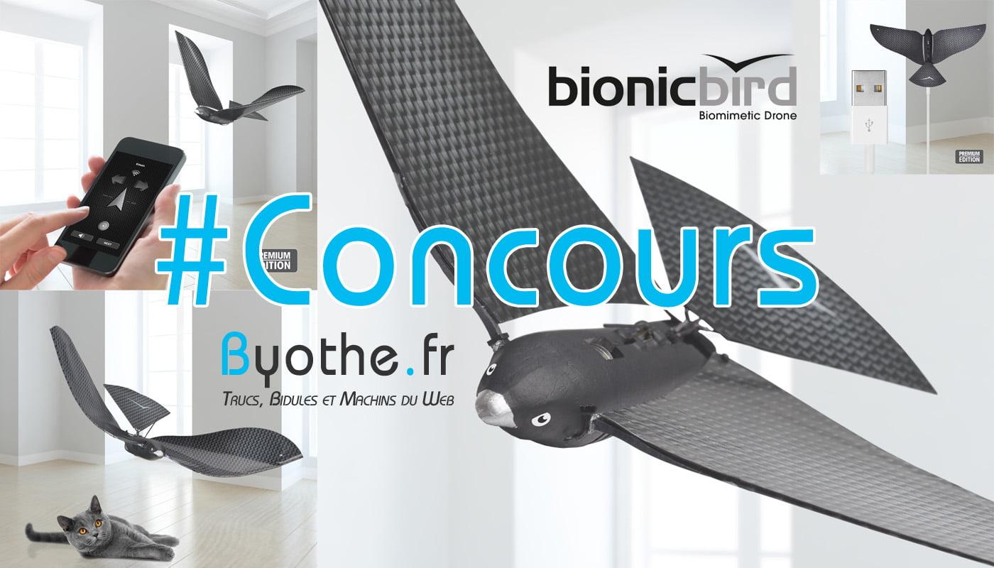 concours-drone-bionic-bird #Concours : un drone oiseau Bionic Bird à gagner !