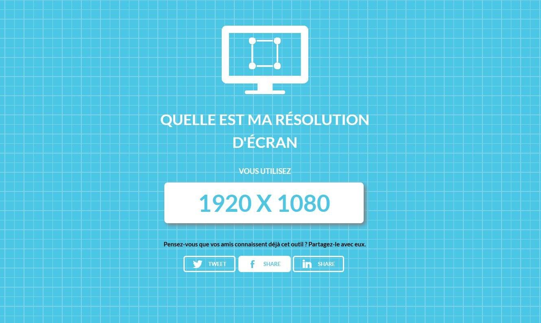 resolution-ecran Connaître sa résolution d'écran en un clic !