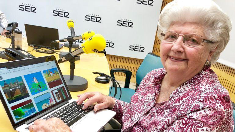ConchaGarcia-Zaeral L'image du jour : cette mamie de 87 ans est une virtuose de Paint !