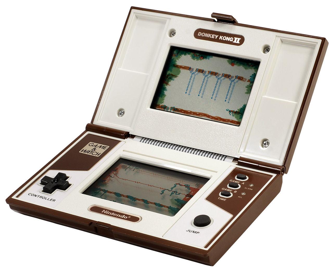 game-watch-donkey-kong-2 The Internet Archive fait revivre les jeux électroniques de votre enfance !