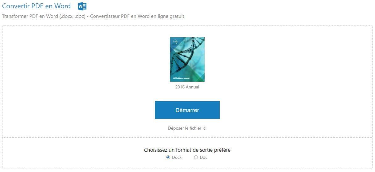 celverpdf-conversion-word CleverPDF : 20 outils gratuits et en ligne pour manipuler des PDF