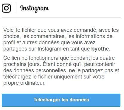 instagram-telechargement Comment télécharger toutes vos photos Instagram