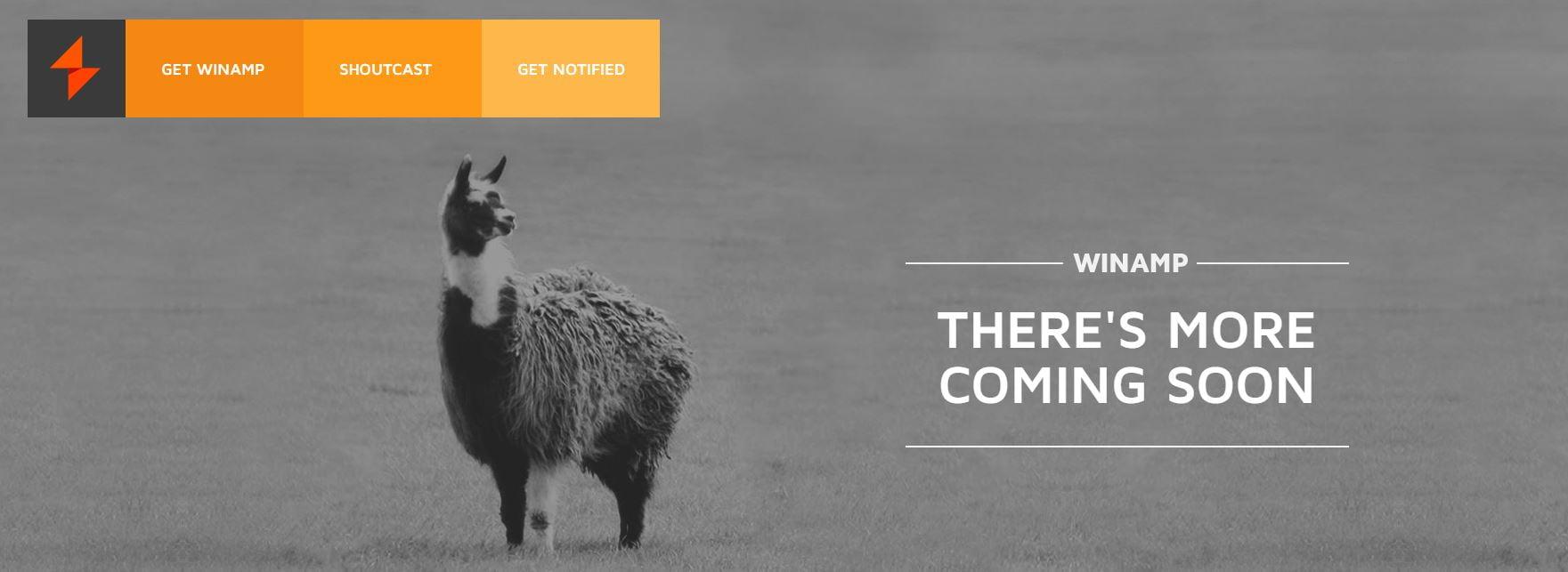 winamp-more-coming-soon Avis aux nostalgiques : un émulateur de Winamp dans votre navigateur web !