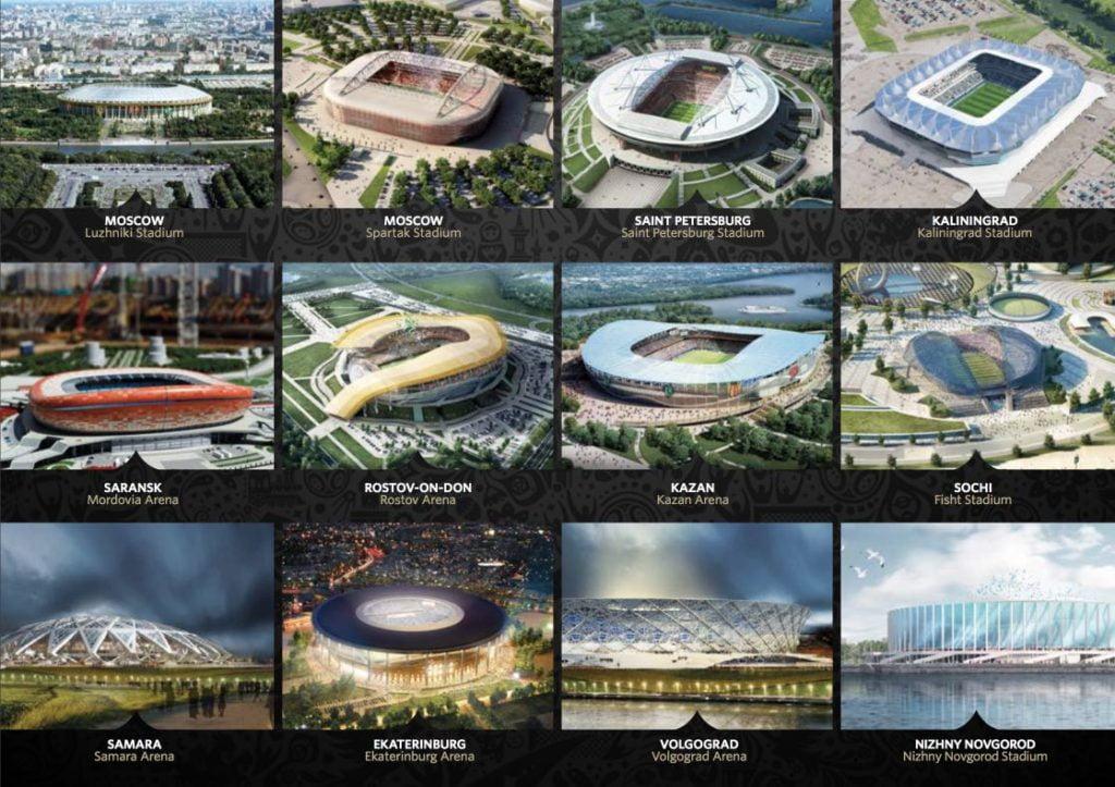 stades-coupe-du-monde-2018 Tout savoir sur la Coupe du monde de Football 2018 en Russie