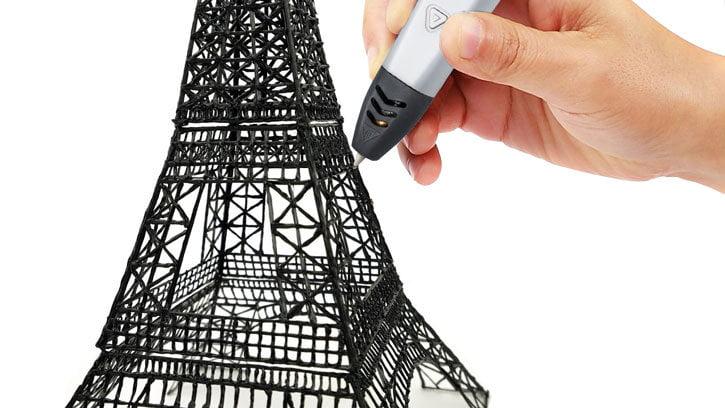 stylo-impression-3D-tour-eiffel #Concours : un stylo d'impression 3D Forever 3D Simply PP-100 à gagner !