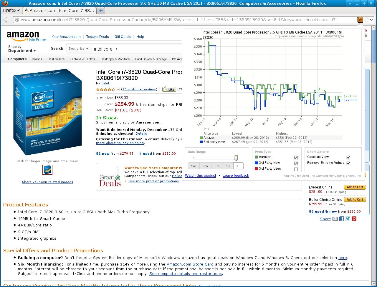 camelizer-firefox-screenshots-amazon CamelCamelCamel : soyez alerté de l'évolution du prix des produits sur Amazon