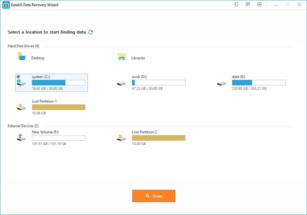 ease-us-data-recovery-wizard-1 EaseUS Data Recovery Wizard : Récupérez facilement vos données perdues