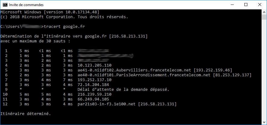 traceroute-internet Au fait, comment ça fonctionne Internet ?