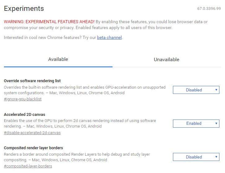 chrome-flags Comment accéder aux fonctions et paramètres cachés de Chrome en utilisant les pages chrome://
