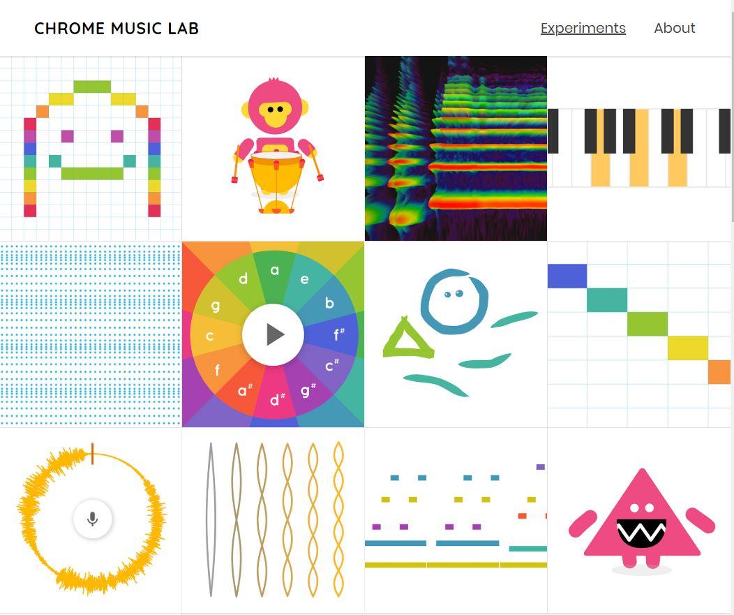 chrome-music-lab Song Maker de Google vous permet de composer facilement de la musique dans votre navigateur