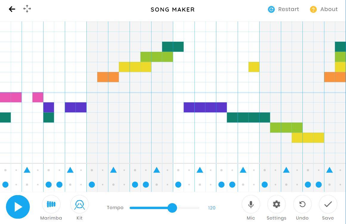 song-maker-test Song Maker de Google vous permet de composer facilement de la musique dans votre navigateur