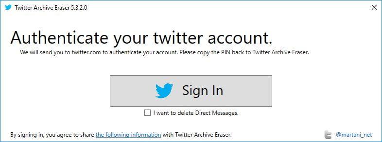 twitter-archive-eraser-1 Twitter : Effacez vos anciens tweets, likes et messages privés en un seul clic !